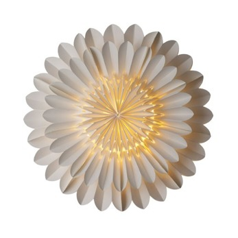 Lotusstjärna - Papperslampa 44 cm