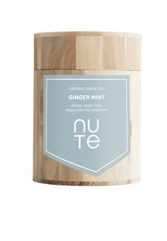 Ginger mint - NUTE Ekologiskt te i burk
