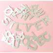 DIY Word Banner - Silver