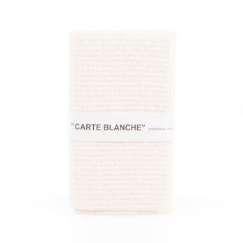 Två disktrasor (fler färger) - Carte blanche/Vit