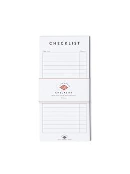 Checklist -