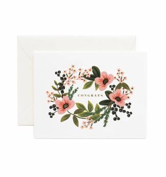 Congrats bouquet - Kort
