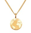 World around my neck - Guld