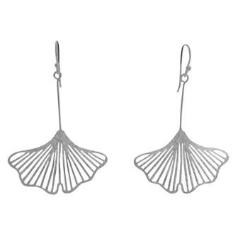 Ginko leaf - Silver