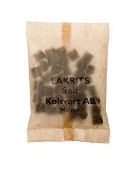 Kolsvart saltlakrits - Salt