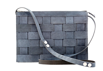 Näver Crossbody Bag - Oily Navy