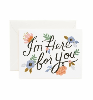I'm here for you - Kort