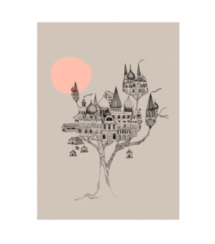 Miniprint - Grey Birds Nest