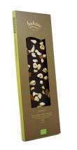 Ekologisk choklad med mandel, cashew och hasselnöt