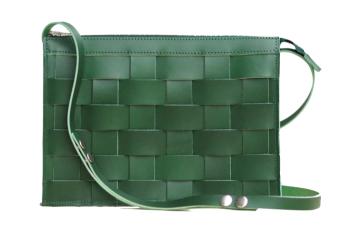 Näver Crossbody Bag - Grön