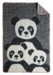 Pandapläd - Ull