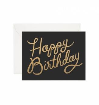 Shimmering birthday - Kort
