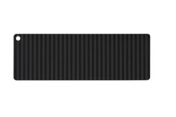 Silikonlöpare - Svart/grå
