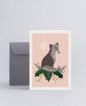 Julkort Fox
