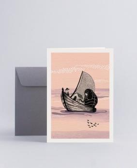 Minikort - Sailing