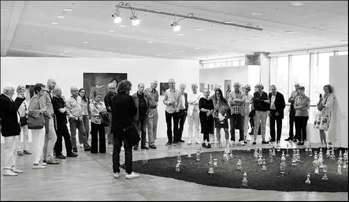 Hötorget träffar Peter Geschwind, avgångsutställning på KKH 2013. Foto Jan Persson