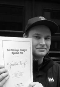 Jonathan Terry.  Hötorgsstipendiat 2016