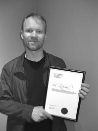 Ivar Lövheim Hötorgsstipendiat 2019