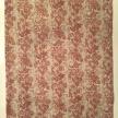 Löpare lin, grått, svart och rött mönster - Löpare lin, 40*140 cm rött mönster