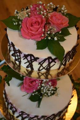 Beställ er bröllopstårta från Signes konditori i Vallberga nära Laholm & Halmstad