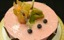 Moussetårta Hallon & vit choklad