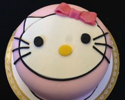 Hallo kitty tårta
