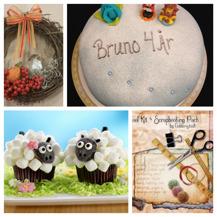 Tårtkurs, höstkrans, baka cupcakes