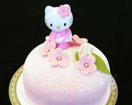 Kitty  tårta