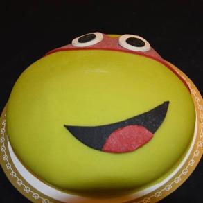 Turtles tårta