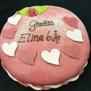 Extra dekor på tårta - Hjärta 1 st