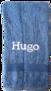 Handduk mellan - Ljusblå
