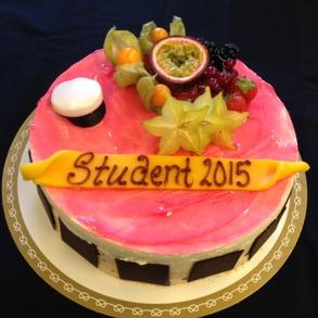 Studenttårta mousse