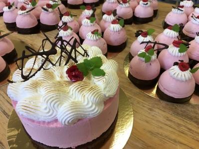 Unik bröllopstårta