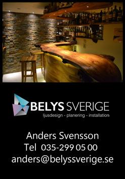 Din belysningskonsuly i Halland  BELYS SVERIGE i  Halmstad