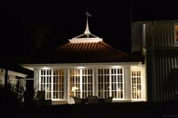 Konsulter & installatörer av fasadbelysning och ljusdesign i utomhusmiljöer så som garage, murar, uppfarter, fasader, tak och annan exteriör i Halland: Halmstad, Båstad, Laholm, Kungsbacka, Varberg &