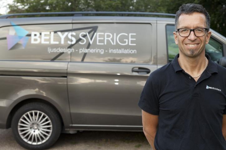 Anders Svensson, Beslysningskonsult, Elektriker och VD Belys Sverige AB i Halmstad