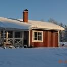 Stugan i vinterskrud