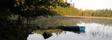 Bryggan och våra båtar vid sjön Wismen