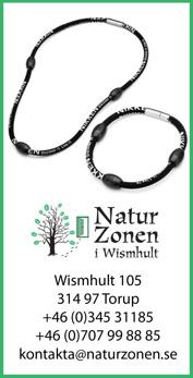 Söker du försäljare av magnetsmycken Nikken i Halland?  Vi på NaturZonen i Wismhult mellan Ullared & Falkenberg är återförsäljare av magnetsmycket Nikken