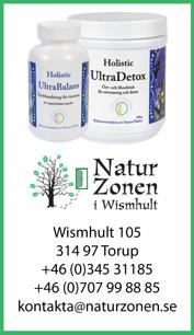 Hälsokost med Holistics produkter - naturmedicin Falkenberg, Halland