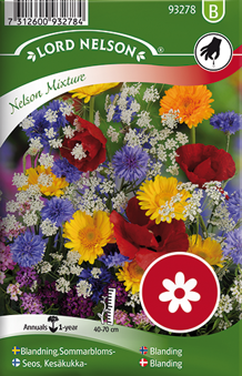 Mix, Sommarblommor, Nelson mixture