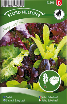 Sallat, Baby Leaf mix