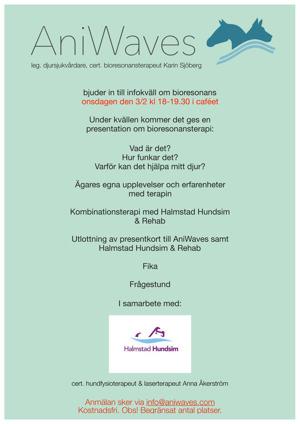 Bioresonansterapi för hund i Halland, Halmstad