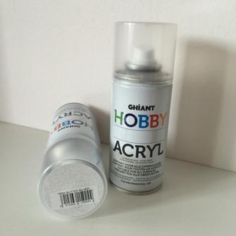 Hobby Glitterspray - Hobby Glitter Silver150ml