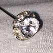 Nålar och Pindekorationer - Diamantnål1,2x7cm 1 st