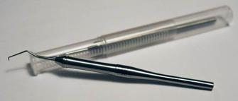 Rensverktyg - Pro Aluminium ergonomisk Hjälper dig att enkelt rensa det utskurna i papper, vinyler och annat. Blir inte slö och trubbig