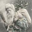 Servetter Styckesvis Sagen - Santa