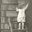 Servetter Styckesvis Sagen - Barn på Stege i bibliotek