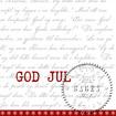 Utförsäljning! Servettpaket sagen - God Jul  33*33