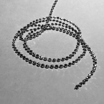 Strassband - 1m - Strass pärlsnöre 1 m